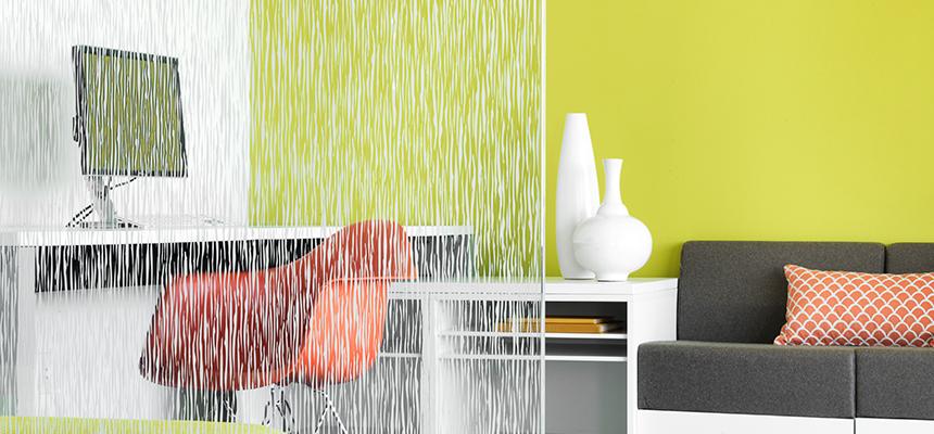 pellicole per vetro interior design