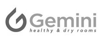 Logo Gemini healthy & dry rooms